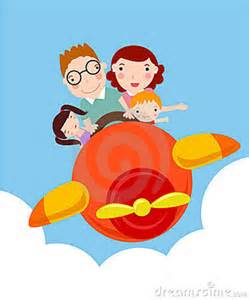 airplane family travel